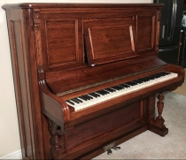 upright piano restore