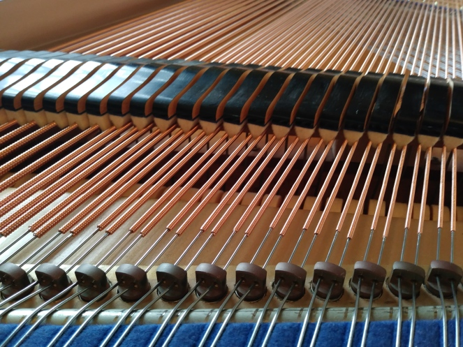 Piano Restoration, New Strings